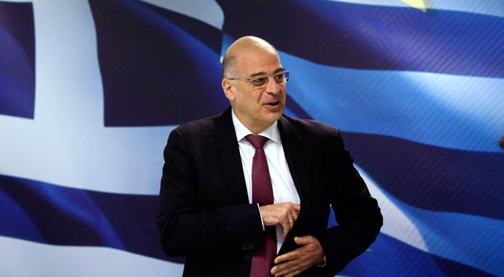 """Dışişleri Bakanı Dendias'tan """"milli birlik"""" çağrısı"""