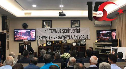 Batı Trakya Türkleri 15 Temmuz'u unutmadı unutmayacak