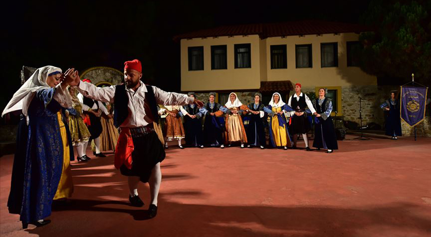 Kavala'da 'Kapadokya'nın geleneklerini' yaşatıyorlar