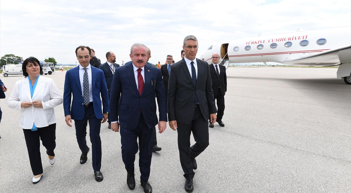 TBMM Başkanı Mustafa Şentop Batı Trakya temaslarına İskeçe'den başladı