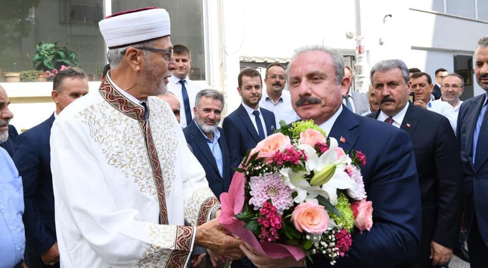 TBMM Başkanı Mustafa Şentop İskeçe şehir turunun ardından Gümülcineye geçti