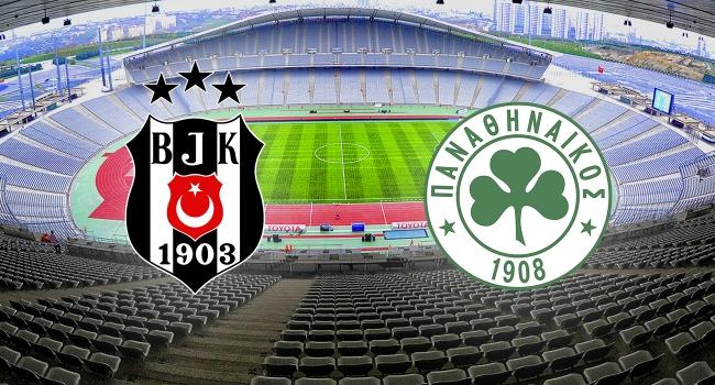 Beşiktaş Panathinaikos karşı karşıya