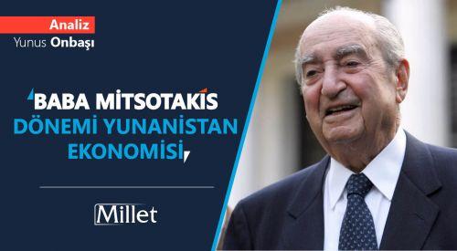Baba Mitsotakis Dönemi Yunanistan Ekonomisi