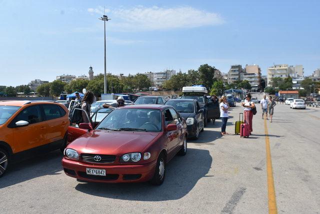 Semadirek'te mahsur kalan turistler tahliye ediliyor