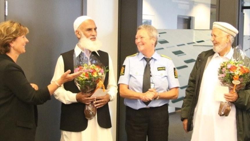 Norveç polisi cami saldırısını engelleyenlere teşekkür etti