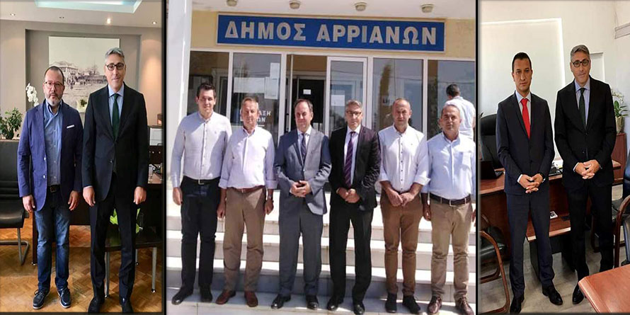 Başkonsolos Murat Ömeroğlu, belediye başkanlarına başarı diledi