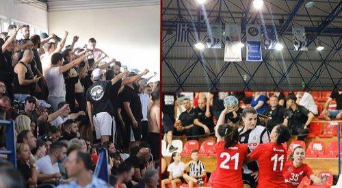 Selanik'te Türk bayrağına ve kadın sporculara ırkçı saldırı!
