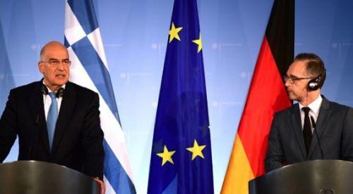 Dışişleri Bakanı Dendias Alman mevkidaşı ile görüştü
