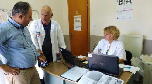 Kozlukebir Belediyesinde 'Ulusal Temel Sağlık' programı