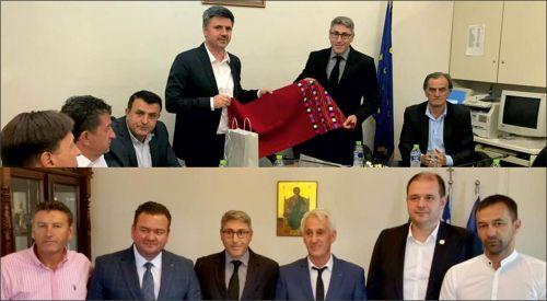 Başkonsolos Ömeroğlu İskeçe ve Mustafçova belediyelerini ziyaret etti