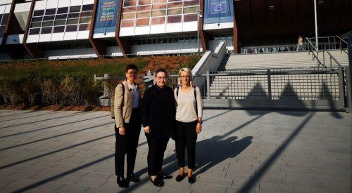 Batı Trakya Türk heyeti Strazburg'a ziyaret gerçekleştirdi