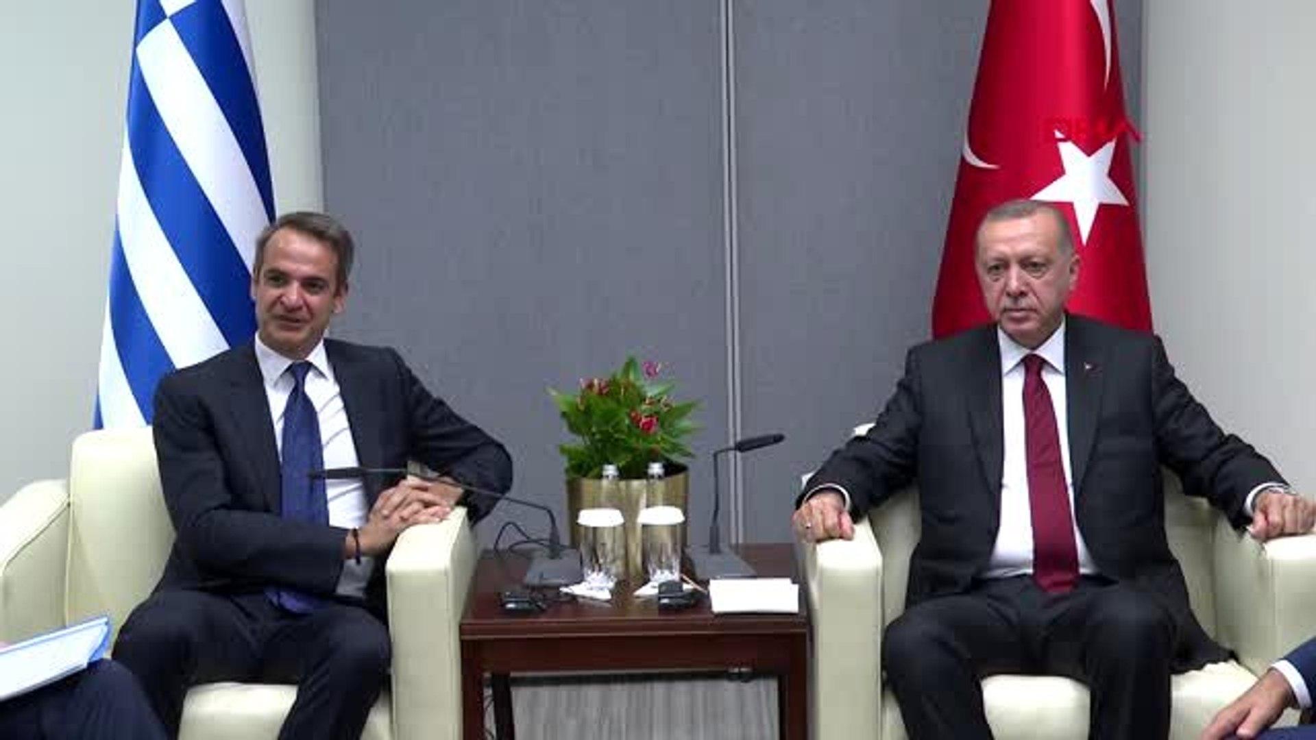 Başbakan Miçotakis, Cumhurbaşkanı Erdoğan ile görüştü