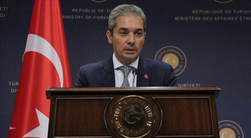 Türkiye'den Yunanistan-Mısır ve Güney Kıbrıs Rum Yönetimi'ne tepki