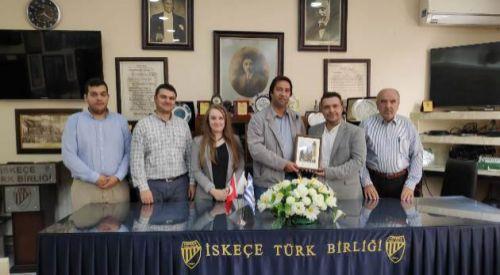 Gümülcine Türk Gençler Birliği'nden kardeş dernek İskeçe Türk Birliği'ne ziyaret