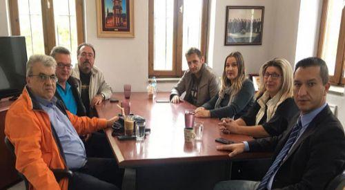 Yassıköy Belediye Başkanı Önder Mümin'e ziyaretler sürüyor