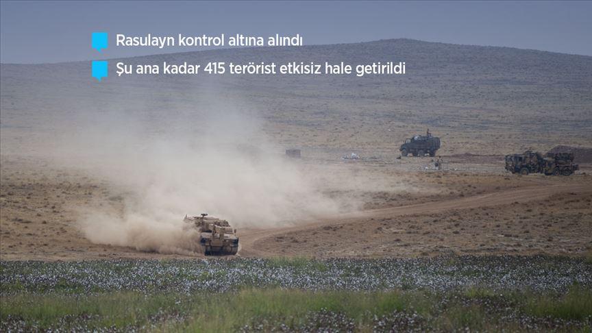 Barış Pınarı Harekatı'nda 4. gün