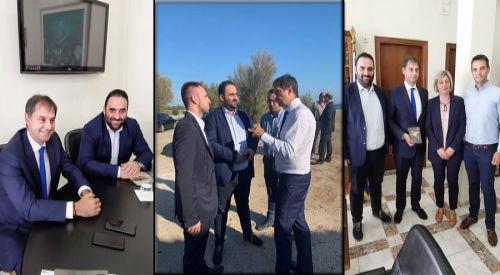 Συνάντηση Προέδρου ΕΒΕΡ κ. Αντώνη Γραβάνη με τον Υπουργό Τουρισμού Χάρη Θεοχάρη