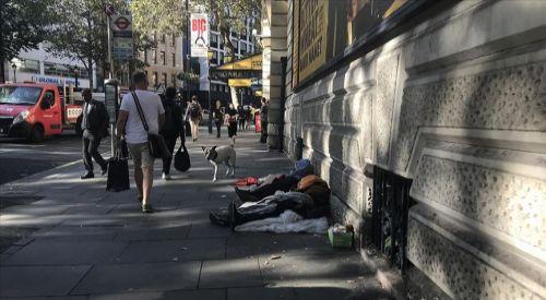 İngiltere'de 'evsiz' ölümleri en yüksek seviyeye ulaştı