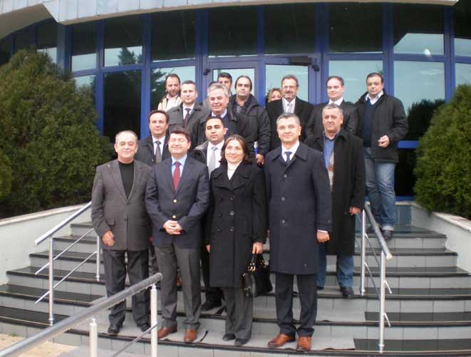 Başkonsolos Sarnıç'ın girişimleriyle Çorlu Avrupa Serbest Bölgesi ziyaret edildi