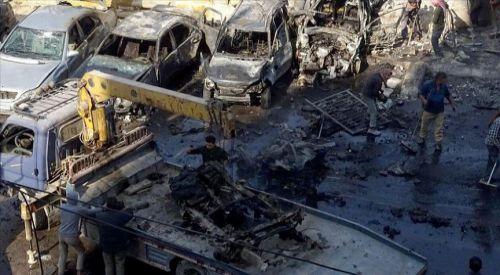 Bab'da PKK/YPG'den bombalı terör saldırısı: 18 ölü