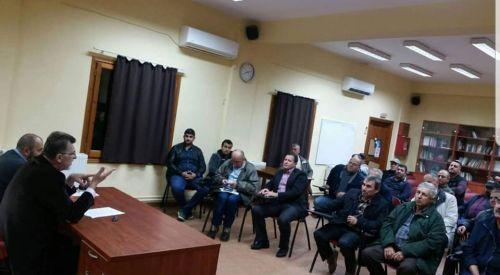 """Milletvekili Burhan Baran """"Köy Zamanı"""" projesine Ova bölgesinden başladı"""