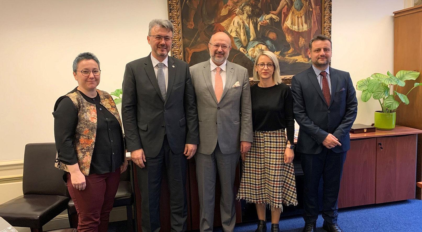 H Αντιπροσωπεία των Τούρκων της Δυτικής Θράκης πραγματοποίησε συνάντηση με τον Ύπατο Αρμοστή του ΟΑΣΕ για τις εθνικές μειονότητες