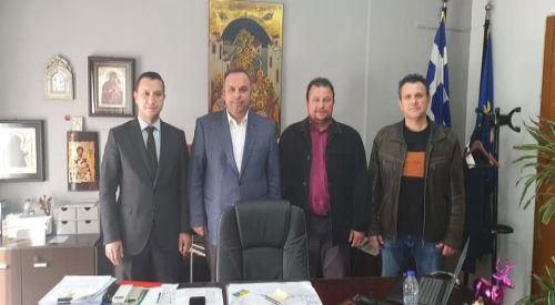 Yassıköy Belediyesi yöneticilerinden Taşoz Belediyesi'ne ziyaret