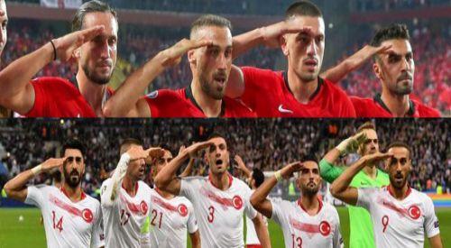 'Asker Selamı' için UEFA, Türkiye Milli Takımı'na ceza verdi