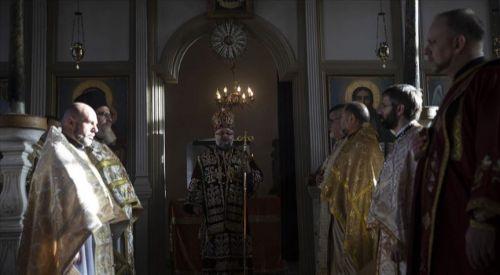 Edirne'deki Sveti Georgi Kilisesi'nde Noel Ayini düzenlendi