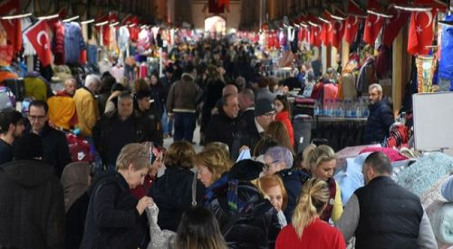 Yunan ve Bulgar turistler, 'yılbaşı' alışverişi için Edirne'ye akın ediyor