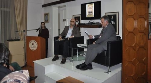 """Dr. Sebahattin Abdurrahman'ın """"Lozan'dan Günümüze Batı Trakya Azınlık Okulları"""" adlı kitabı Gümülcine'de tanıtıldı"""