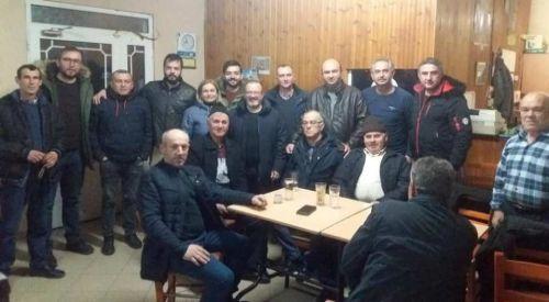 Gümülcine Belediye Başkanı Garanis, ziyaretlere başladı