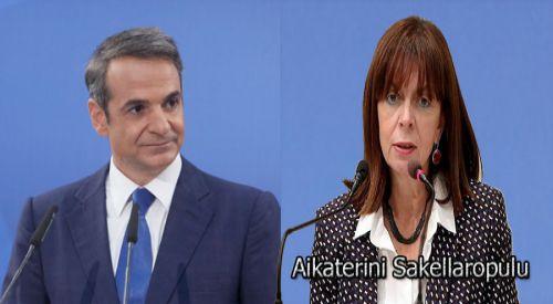 Başbakan Miçotakis, cumhurbaşkanı adayını açıkladı
