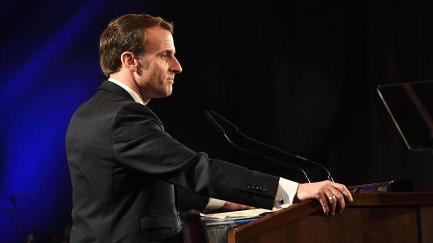 Macron: Fransa diktatörse, gidin diktatörlükte yaşayın ve görün
