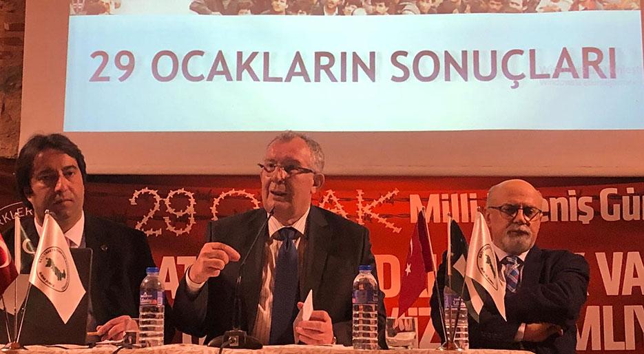 İTB Başkanı Ahmetoğlu Bursa'daki 29 Ocak panelinde konuştu