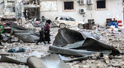 Esed rejimi ve Rusya'nın İdlib'e geçen ayki saldırılarında 188 sivil öldü