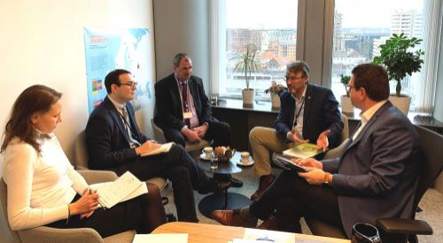 Επίσκεψη μελέτης από το ABTTF στις Βρυξέλλες