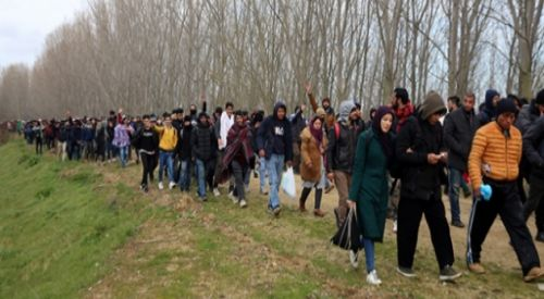 'Edirne'den Yunanistan'a geçen göçmen sayısı 130 bin 469'