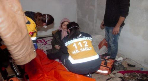 Yunanistan'da dövülen ve parası alındıktan gönderilen hamile kadın hastaneye kaldırıldı