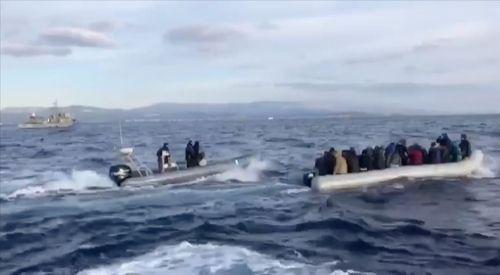 SİRİZA ve Mera24'den, Yunan sahil güvenlik ekiplerinin insanlık dışı muamelesine tepki