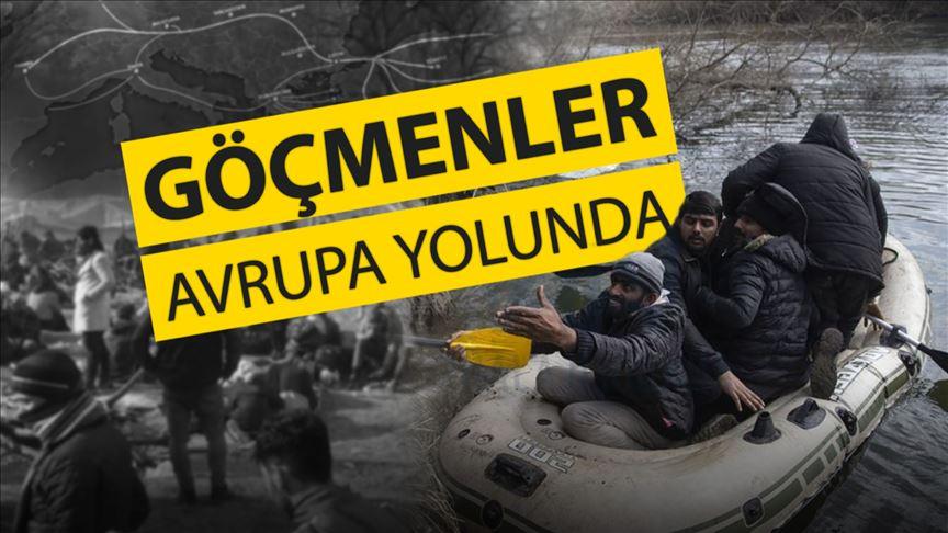 Göçmenler Avrupa yolunda: Türkiye kapıları neden açtı?