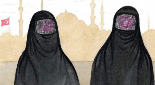 Kathimerini gazetesi, koronavirüs karikatürüyle Müslümanları hedef aldı