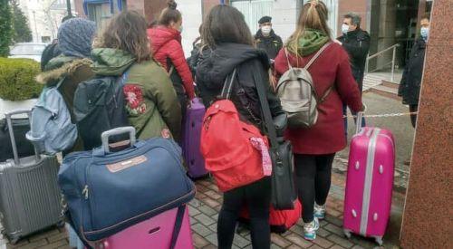 Öğrencilerimiz memleketlerine dönmeye devam ediyor