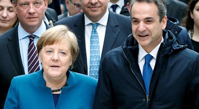 Miçotakis'ten Makron ve Merkel'e Türkiye ile ilgili mektup