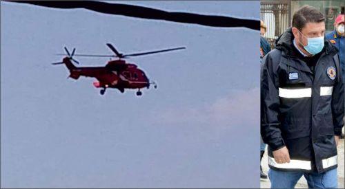 Hardalias acilen helikopterle İskeçe hastanesine indi!