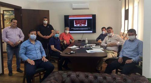 Zeybek ve Hatzitheodorou Mustafçova Belediyesi'ni ziyaret etti