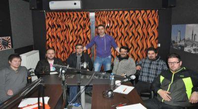 SEYMEN takımı yöneticileri ve futbolcuları ÇINAR FM'e konuk oldular
