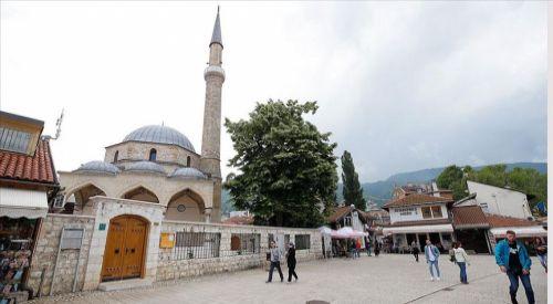 Saraybosna'da yenilenen Başçarşı Camisi ibadete açılmaya hazır