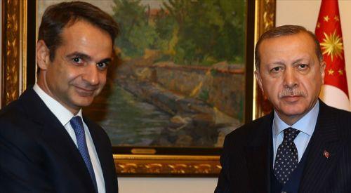 Erdoğan, Miçotakis ile telefonda görüştü
