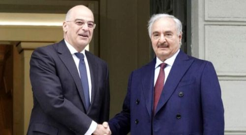 Dendias, Libya paylaşımıyla Türkiye'yi hedef aldı